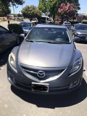 WITHOUT PLATES -Mazda 6 2009 2.5L 4 cylinder - first owner for Sale in Vacaville, CA