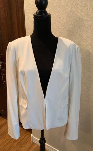 Off White Blazer Jacket Size 16 for Sale in Tempe, AZ