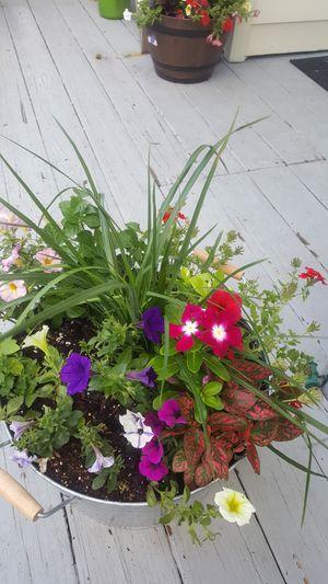 Handmade flower pots for sale for Sale in Norfolk, VA