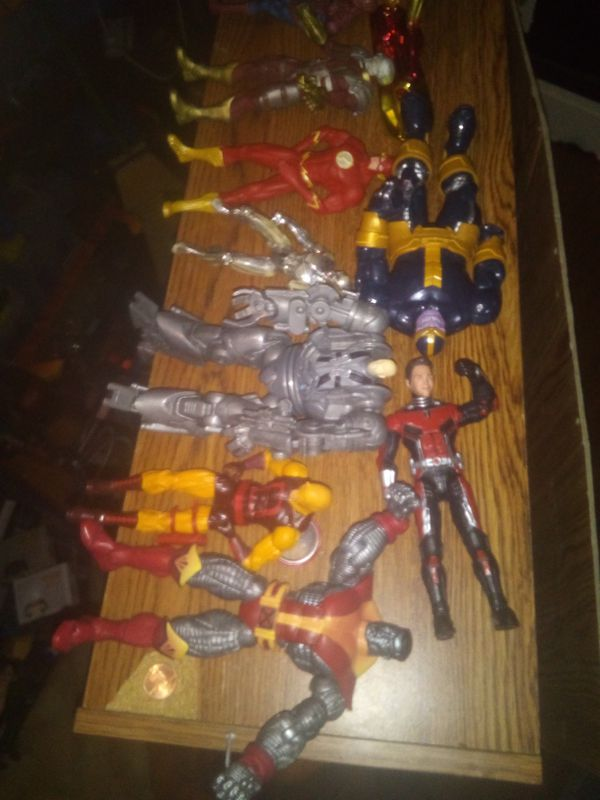 MARVEL LEGENDS NEWEST LOT COLOSUS IS 25.00 THANOS BAF 30.00 REST 8.00 EZCH
