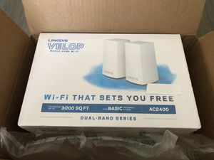 Brand new Linksys AC2400 mesh WiFi routers for Sale in Union City, CA