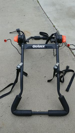 Bike rack for trunk for Sale in Ontario, CA