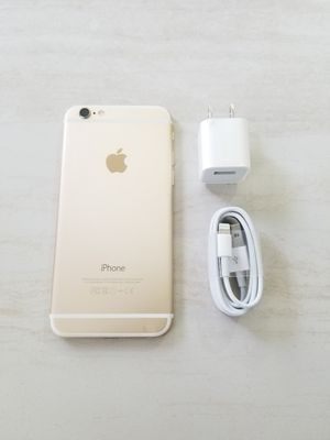 UNLOCKED IPHONE 6 16GB GOLD, (THIS IS NOT THE PLUS) PERFECT CONDITIONS !!! PRICE IS FIRM !!! for Sale in Fort Lauderdale, FL