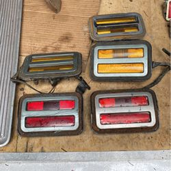 '71 Charger Side Marker Set amber and red for Sale in Yelm,  WA