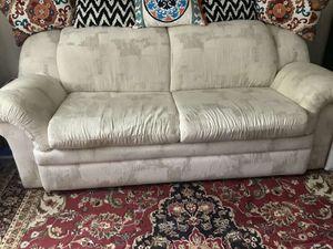 LA-Z-BOY Sleeper Sofa with Full Size Mattress for Sale in Falls Church, VA