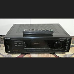 Sony STR DE 405 Dolby Theater Surround Sound Audio Receiver for Sale in Moreno Valley, CA