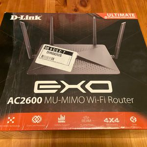 D-Link Wi-Fi Router DIR-882 | AC2600 MU-MIMO | Beam | 4K Streaming / Gaming for Sale in Alameda, CA