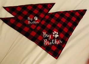 """Brand New """"Big Brother"""" Dog Bandanas for Sale in Riverview, FL"""