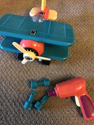 Battat take apart airplane kids tools for Sale in Mesa, AZ