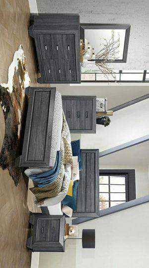 Beechnut Gray Panel Bedroom Set for Sale in Houston, TX