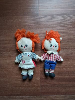 Vintage Knickerbocker Raggedy Ann & Andy Dolls for Sale in Hatboro, PA