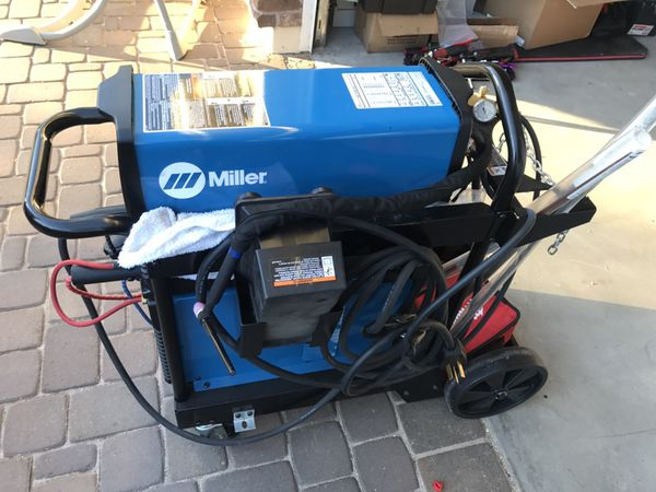 Miller Dynasty 210 DX TIG Welder, 120/480 Volt With Wireless Foot Control,  W-375 TIG Torch Kit And Coolmate for Sale in Phoenix, AZ - OfferUp