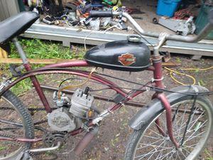 Harley motorized bike for Sale in Roscommon, MI