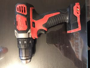 Milwaukee 2606-20 M18™ Compact Drill Driver (Tool Only) for Sale in Frederick, MD