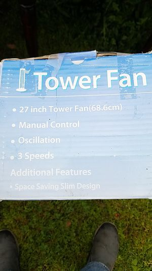 Tower fan in new condition for Sale in Modesto, CA