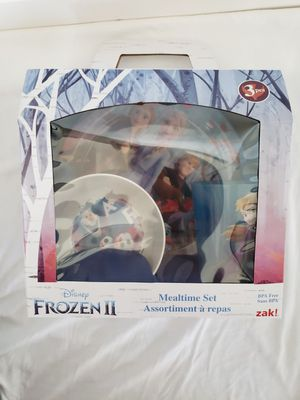 NEW Frozen II Mealtime Set for Sale in Colorado Springs, CO