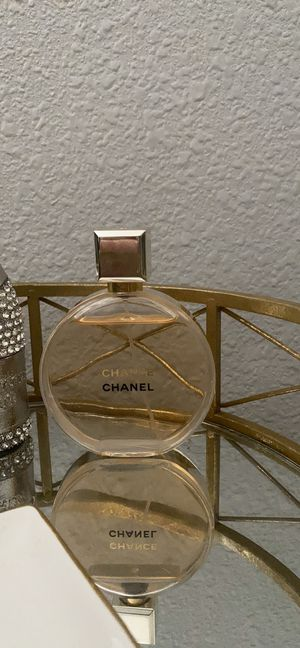 Chanel chance perfume 3.4oz for Sale in Las Vegas, NV