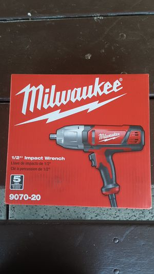 1/2 Milwauke impact wrench for Sale in Simi Valley, CA