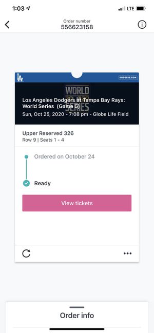 Game 5 1 tickets available for $450 I will walk in stadium with you for Sale in Arlington, TX