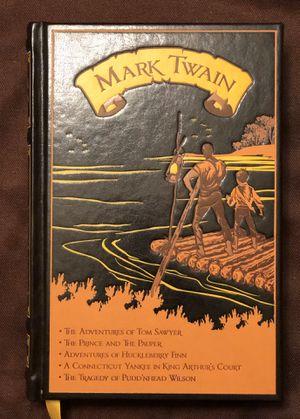 Mark Twain Five Novels for Sale in Chandler, AZ
