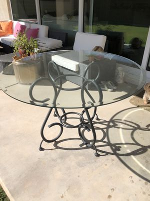 Glass top dining table for Sale in Mesa, AZ