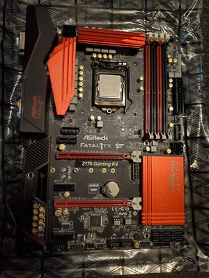 PC parts: i5-6600k, Z170, 16gb RAM and cooler for Sale in Oklahoma City, OK