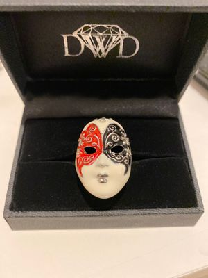 Renaissance Style Mask Ring Size 7.5 for Sale in Long Beach, CA