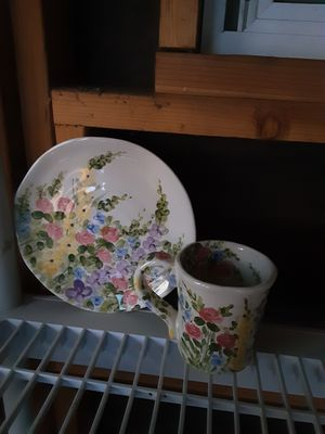 Cup n saucer for Sale in Mount MADONNA, CA