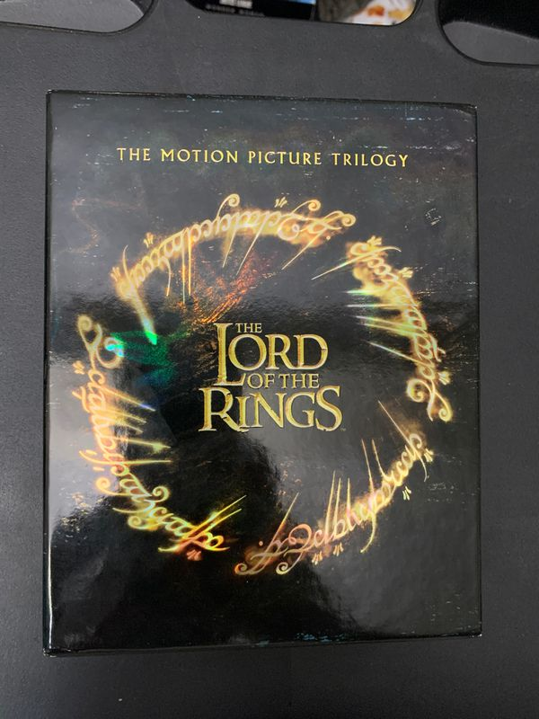 Lord of the Rings Trilogy Blu-Ray + DVD + Digital Edition