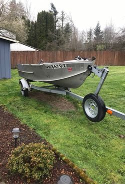 Aluminum boat for sell for Sale in Bothell,  WA