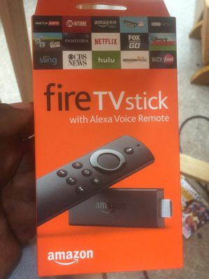 Firestick with all tv shows movies up to date ..live tv .cartoons.. kids movies..sports channels for Sale in Pawtucket, RI