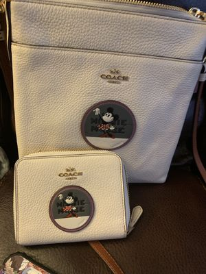 Coach x Disney Minnie Mouse Crossbody bag and wallet for Sale in Dearborn Heights, MI