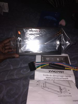 "Dual media receiver with Bluetooth featuring 7""touch screen for Sale in Lake Charles, LA"