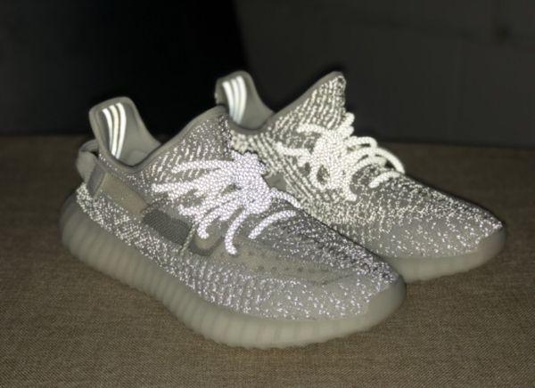 Yeezy Boost 350 V2 Static White Reflective