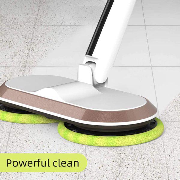 GOBOT Cordless Electric Mop Floor Scrubber for Home Kitchen Hardwood Floor