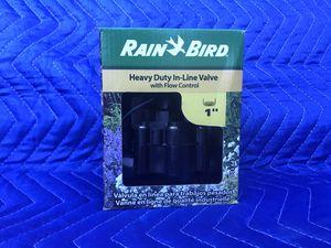 Rain Bird 1 in. In-Line Sprinkler Valve with Flow Control for Sale in San Jose, CA