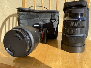 SONY A7 Pro Full Frame Mirrorless and Lux Bundle for Sale in Honolulu, HI