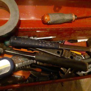 Tool Box With Tools 25 Bucks for Sale in Phoenix, AZ