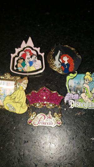Disney pins $8 each for Sale in Manteca, CA