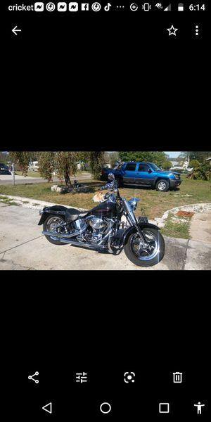 2001 Custom Fatboy Harley Davidson for Sale in Wahneta, FL