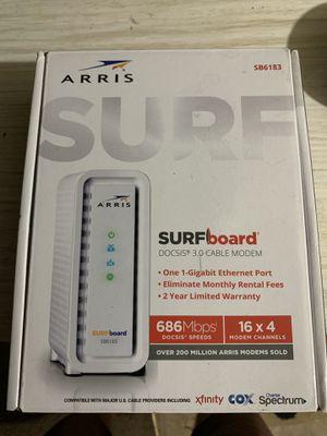 ARRIS SURFboard Cable Modem for Sale in Wichita, KS