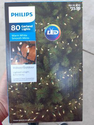 Philips Garland lights 80 indoor/outdoor for Sale in Pomona, CA