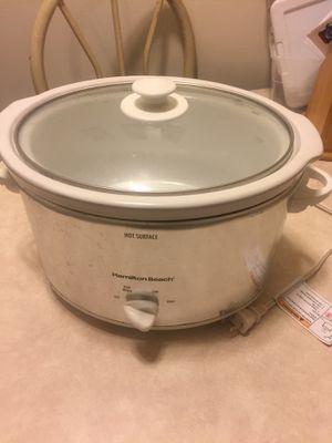 Hamilton Beach crock pot for Sale in Kokomo, IN