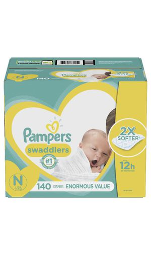Pampers disposable diapers enormous pack - New Born Size (Pick Up Only) for Sale in South Brunswick Township, NJ