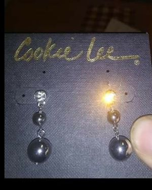 Cookie Lee Rhinestone ear rings for Sale in Lock Haven, PA