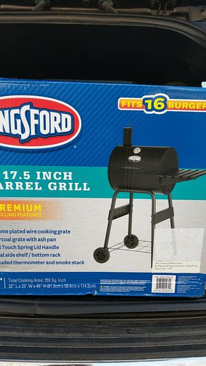 "BBQ Grill Kingsford. 17.5"" New for Sale in Chicago, IL"