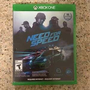 XBOX Need For Speed for Sale in Germantown, MD