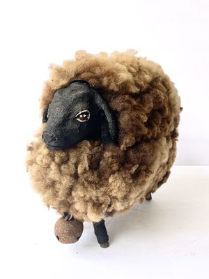 Large Vintage Wooly Sheep for Sale in Port St. Lucie, FL