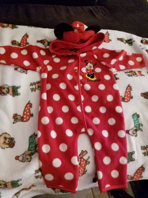 Minnie Mouse Fleece coverall for Sale in Sacramento, CA