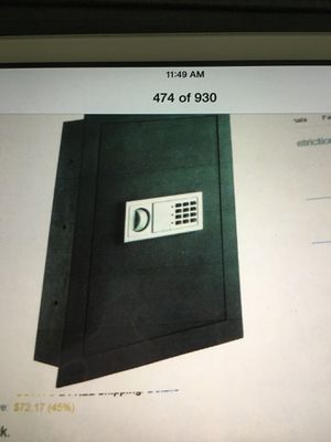Paragon Brand New Wall Safe for Sale in Bronx, NY